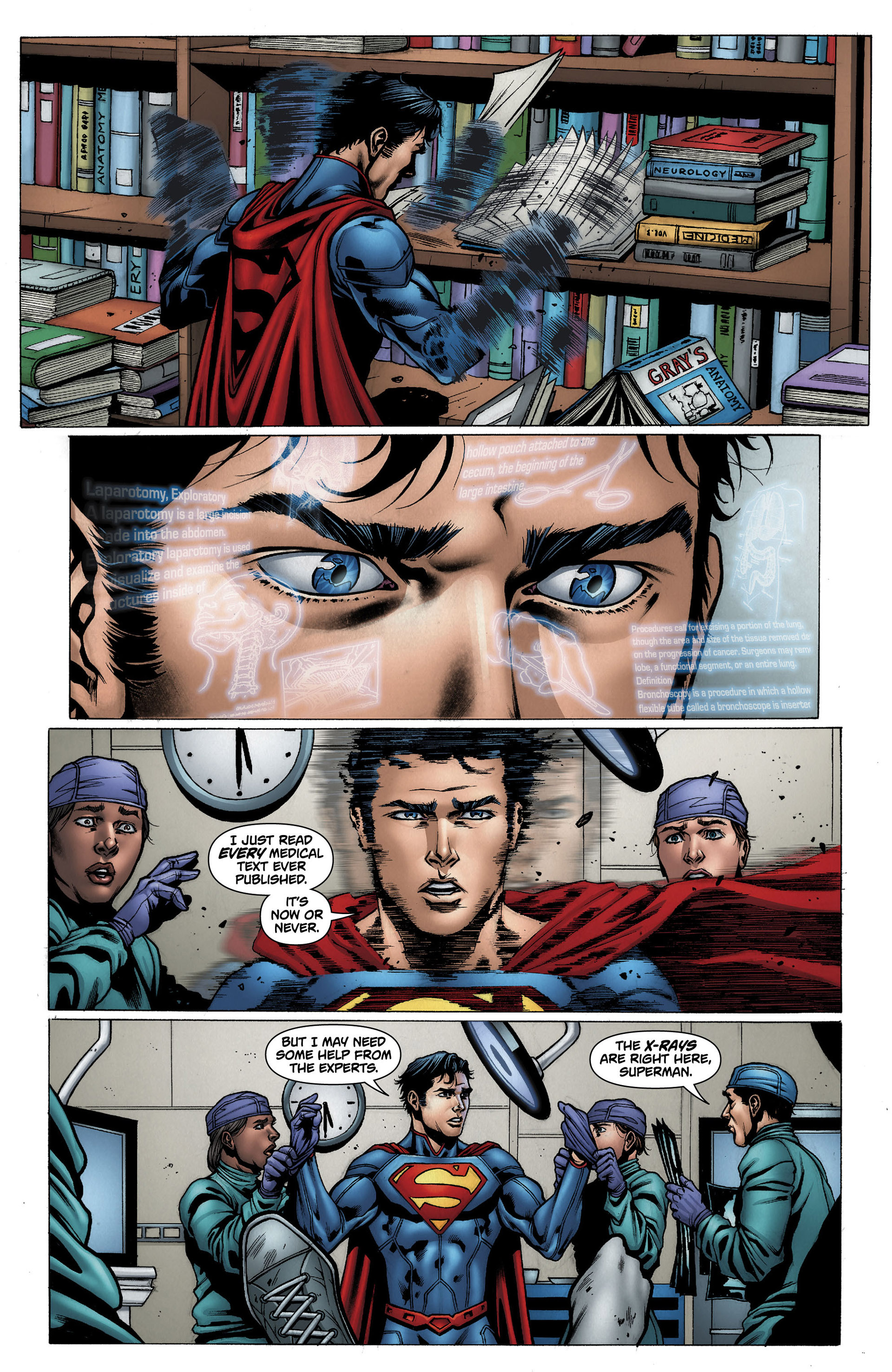 Read online Action Comics (2011) comic -  Issue #12 - 24