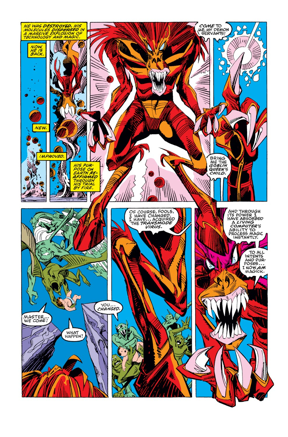 Read online X-Factor (1986) comic -  Issue #37 - 4