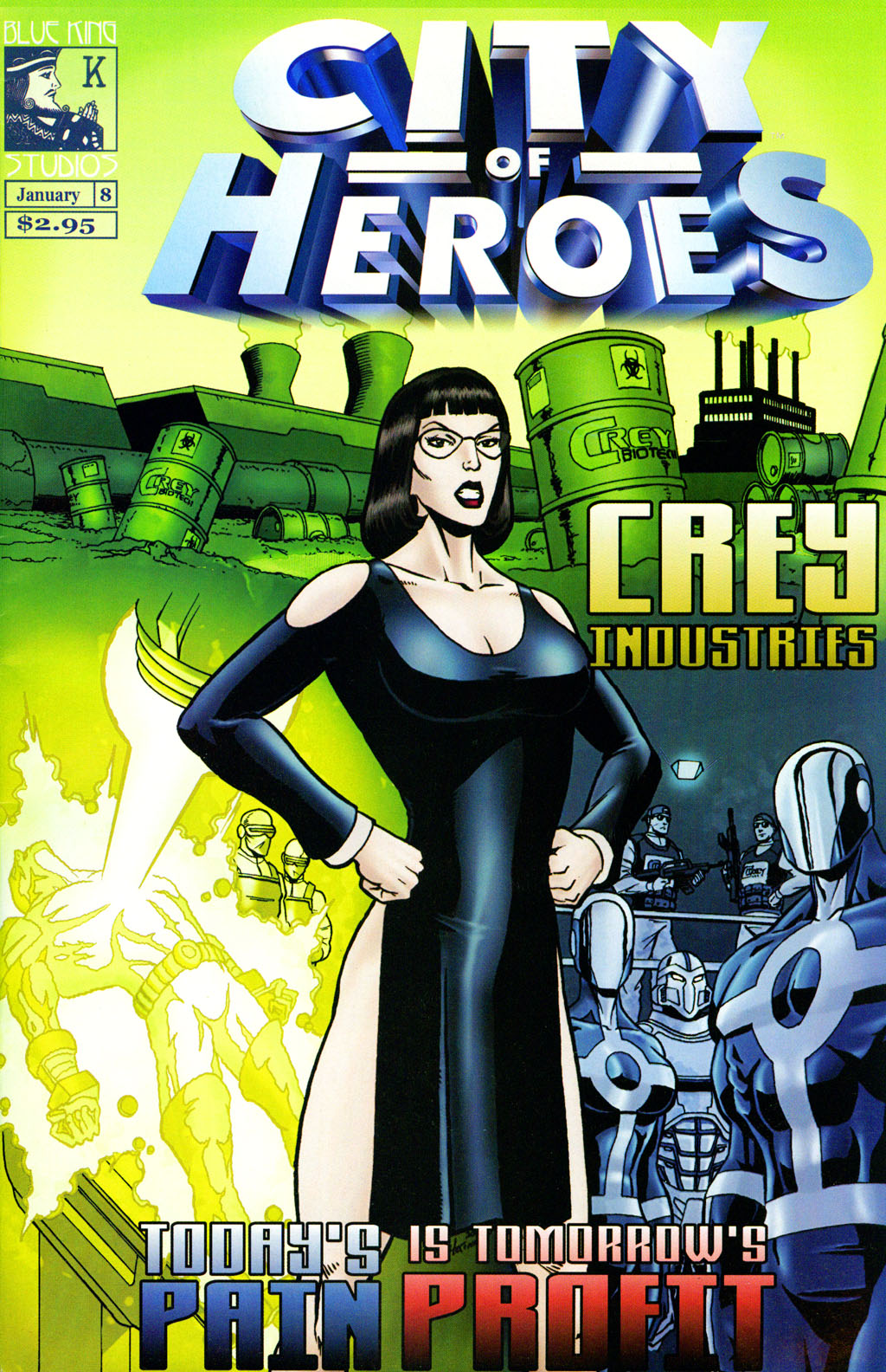 City of Heroes (2004) 8 Page 1