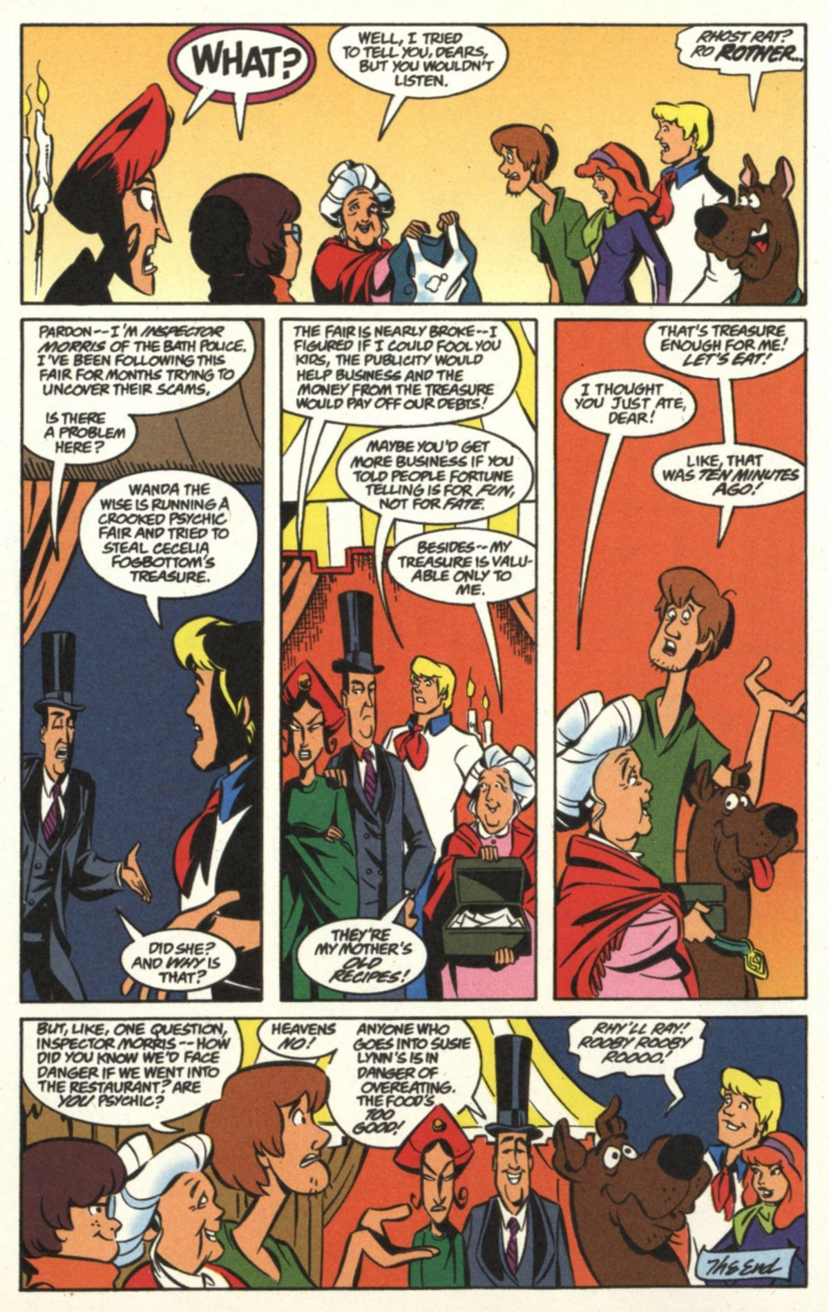 Read online Scooby-Doo (1997) comic -  Issue #19 - 23