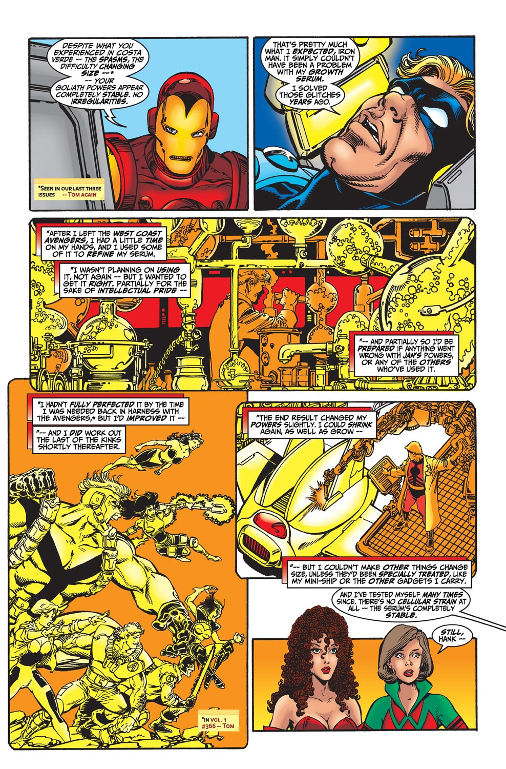 Read online Avengers (1998) comic -  Issue #31 - 5