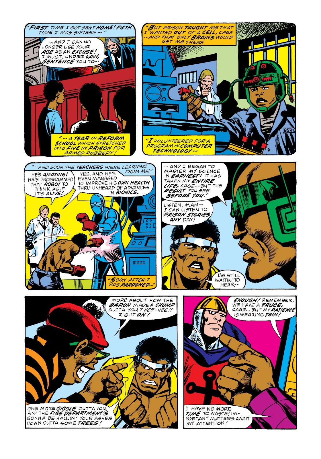 Read online Marvel Masterworks: Luke Cage, Power Man comic -  Issue # TPB 3 (Part 2) - 62