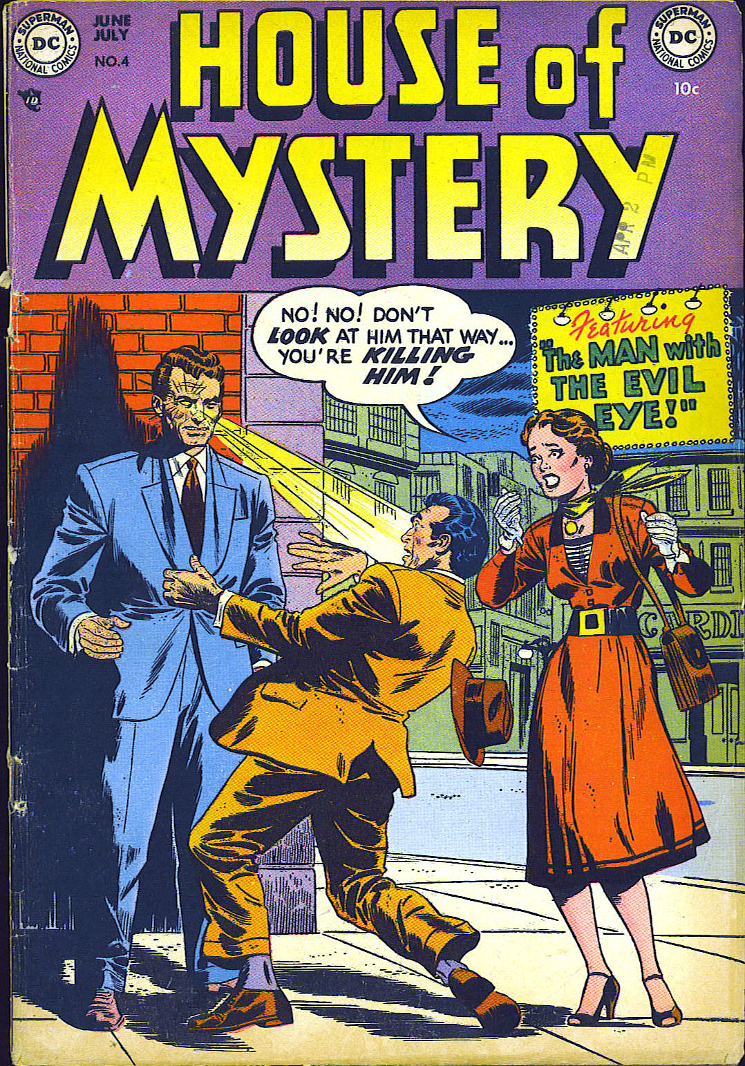 House of Mystery (1951) issue 4 - Page 1