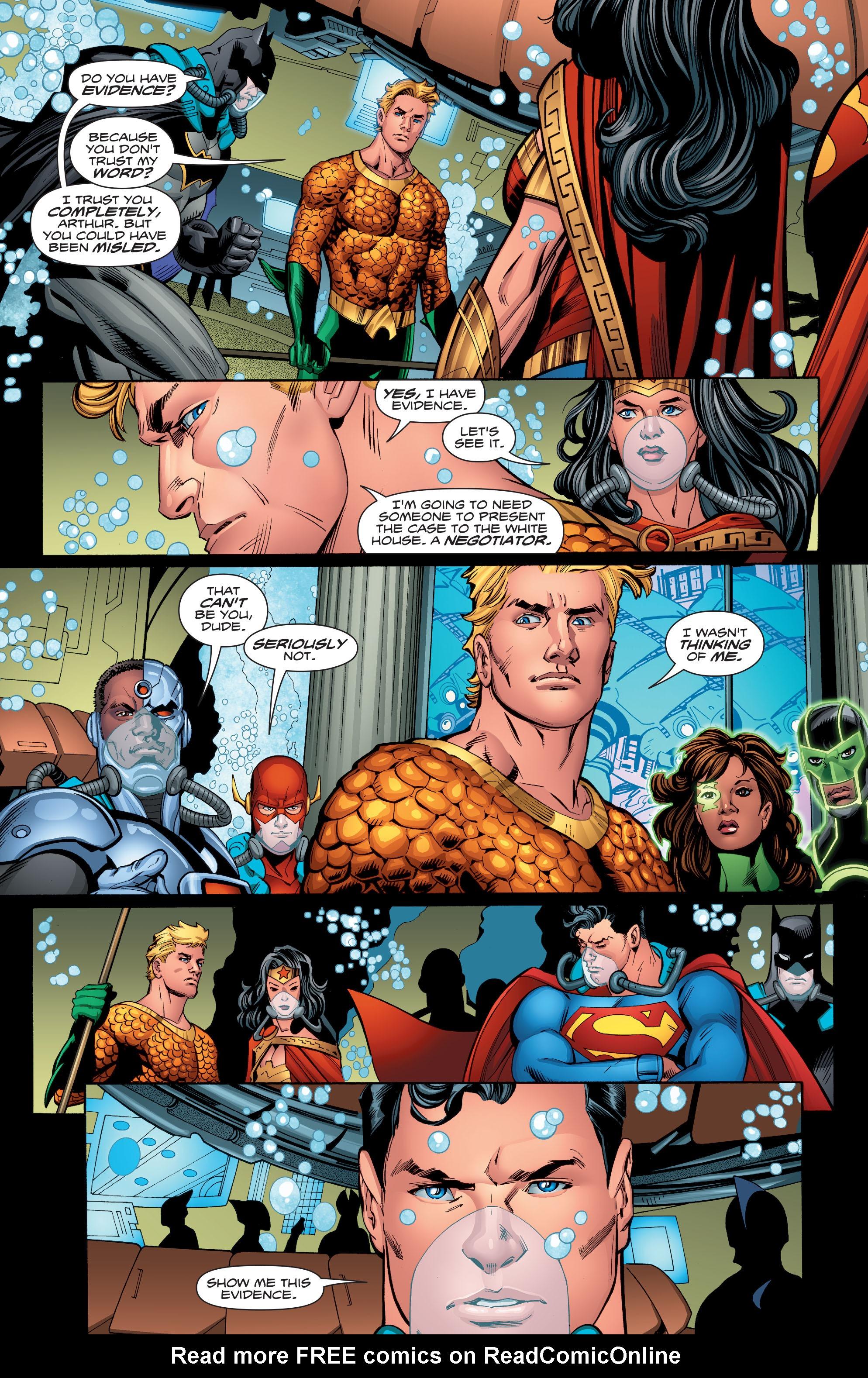 Read online Aquaman (2016) comic -  Issue #13 - 6