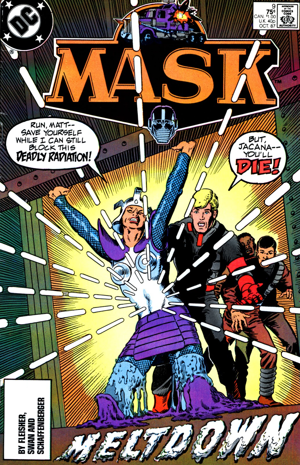 MASK (1987) issue 9 - Page 1