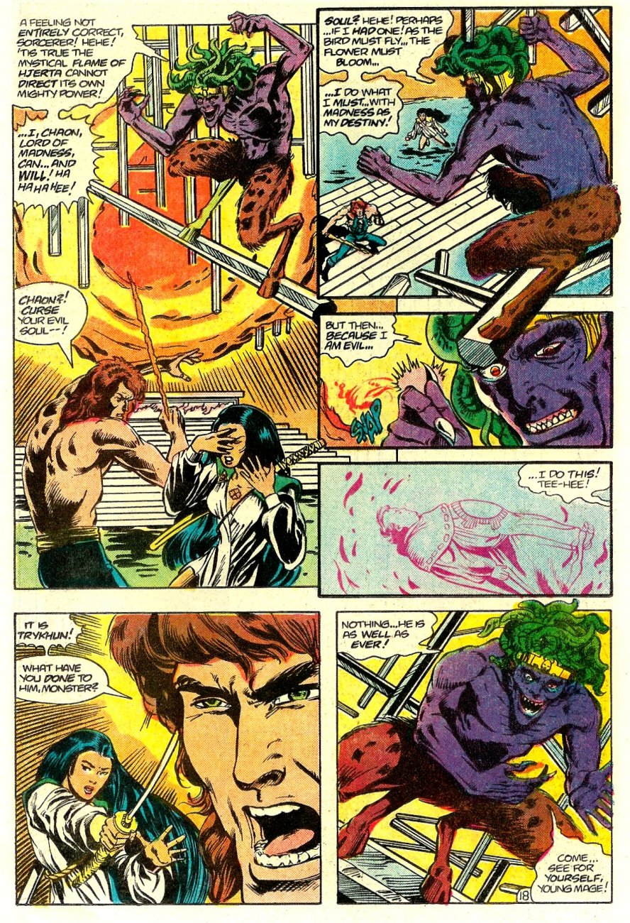 Read online Arion, Lord of Atlantis comic -  Issue #15 - 19