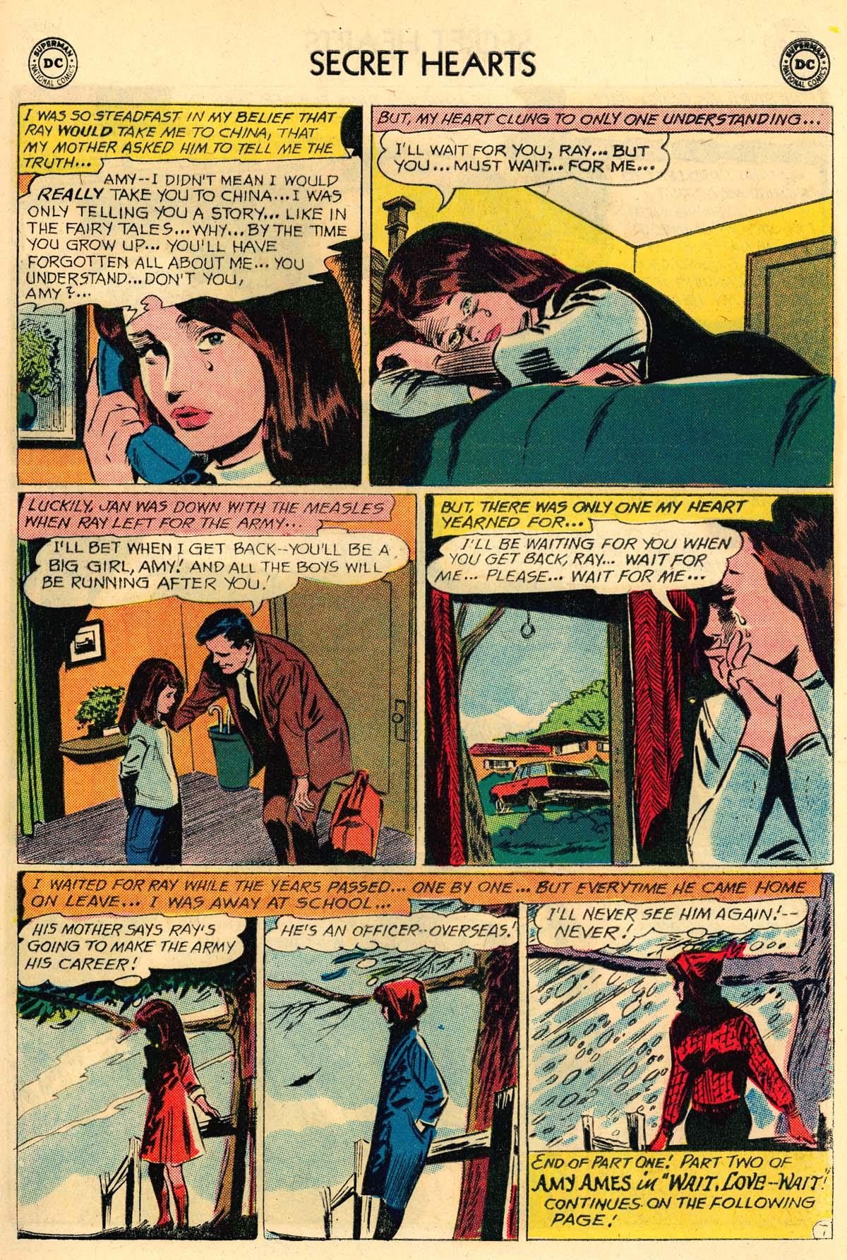 Read online Secret Hearts comic -  Issue #106 - 9