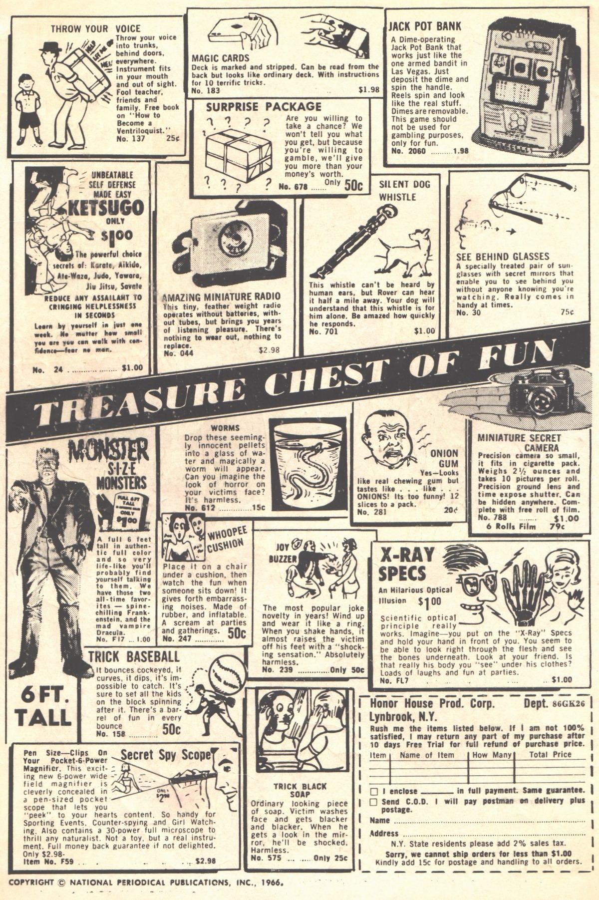 Read online Adventure Comics (1938) comic -  Issue #353 - 2