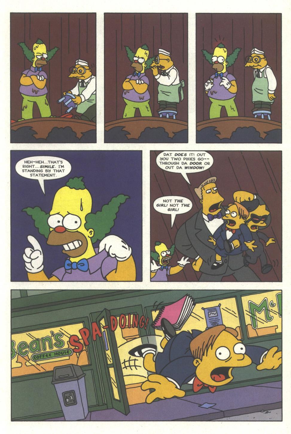 Read online Simpsons Comics comic -  Issue #32 - 14