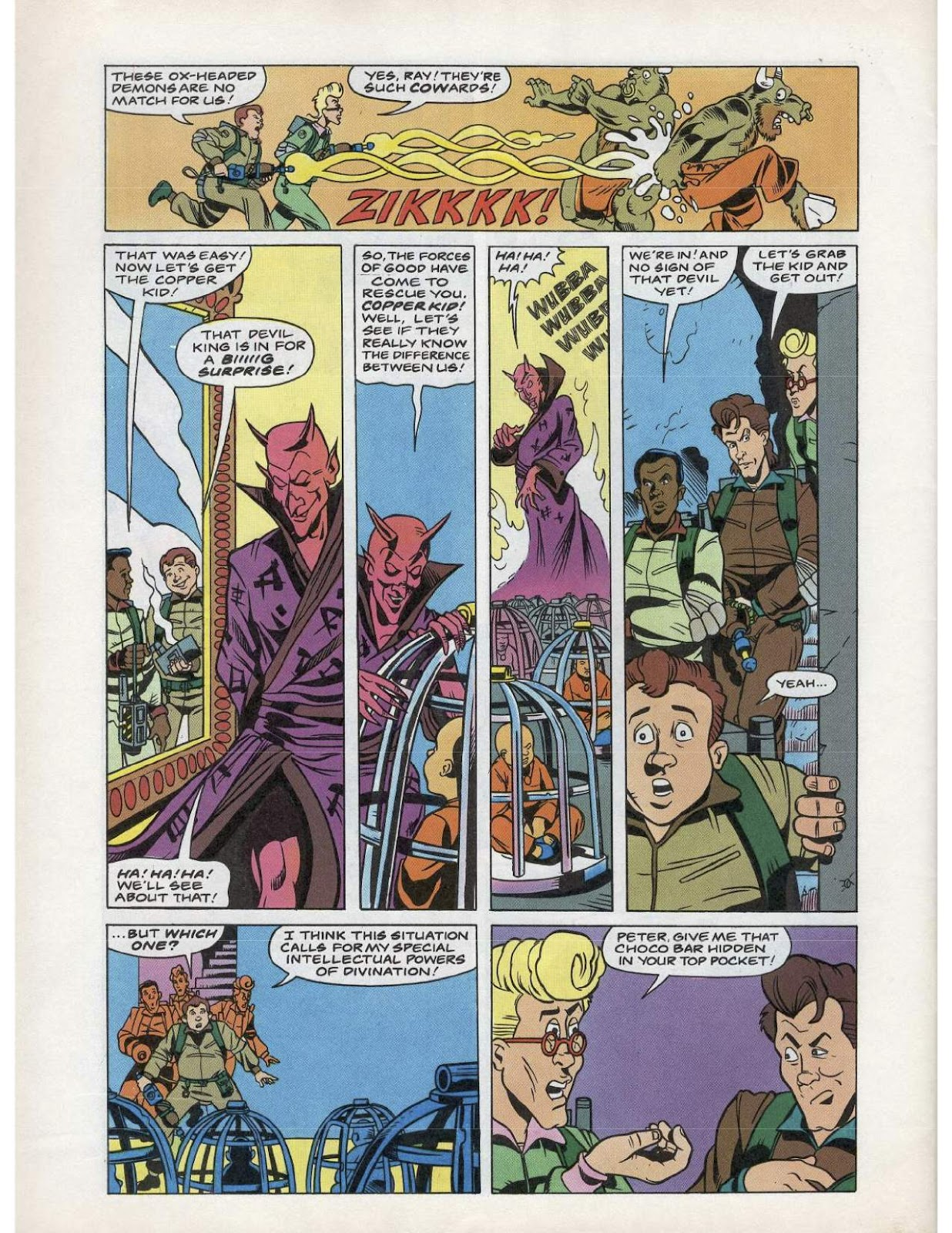 The Real Ghostbusters Issue #193 #167 - English 26