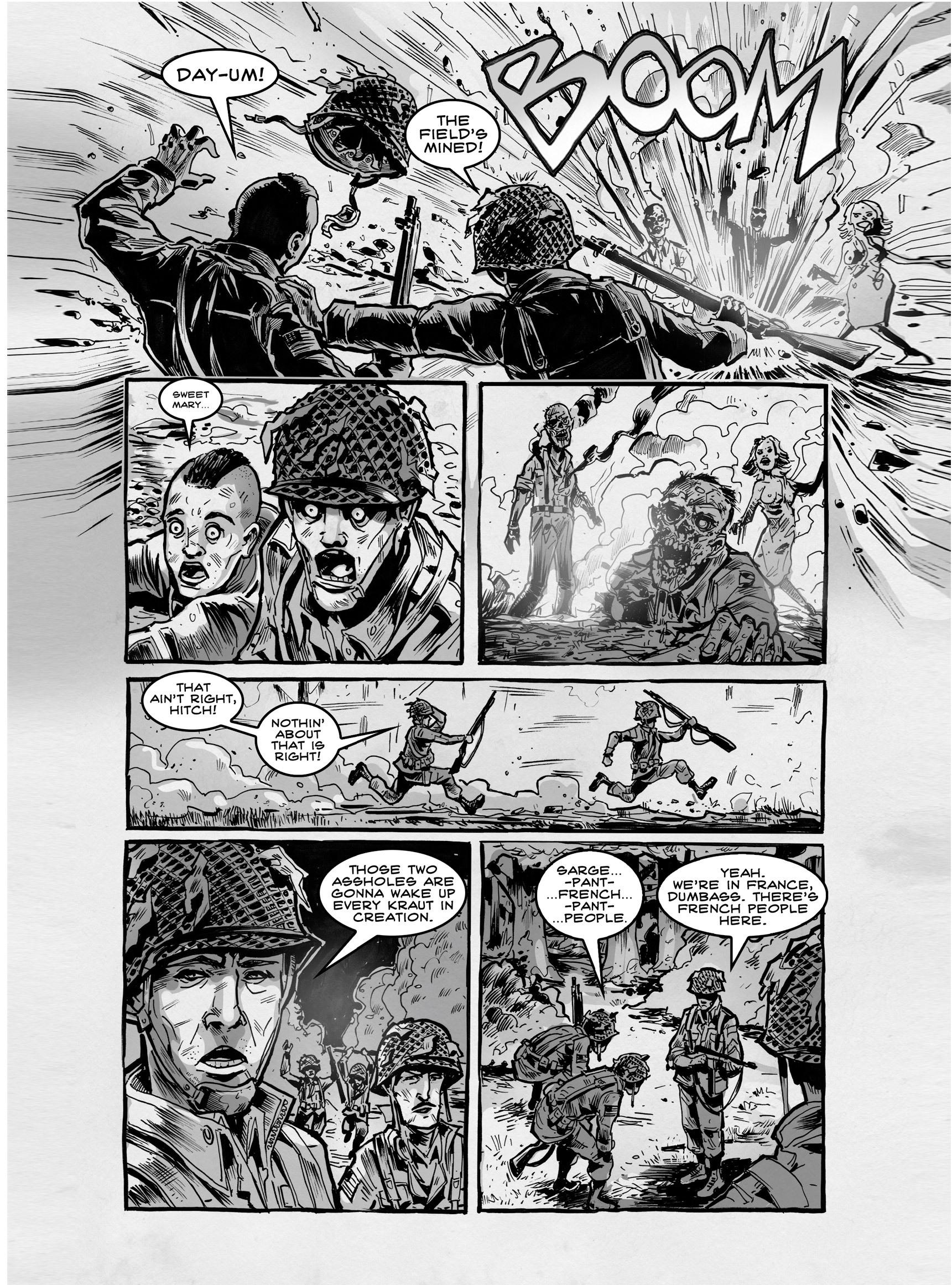 Read online FUBAR comic -  Issue #3 - 283