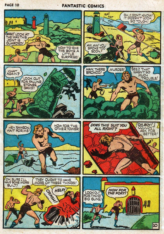 Read online Fantastic Comics comic -  Issue #17 - 12