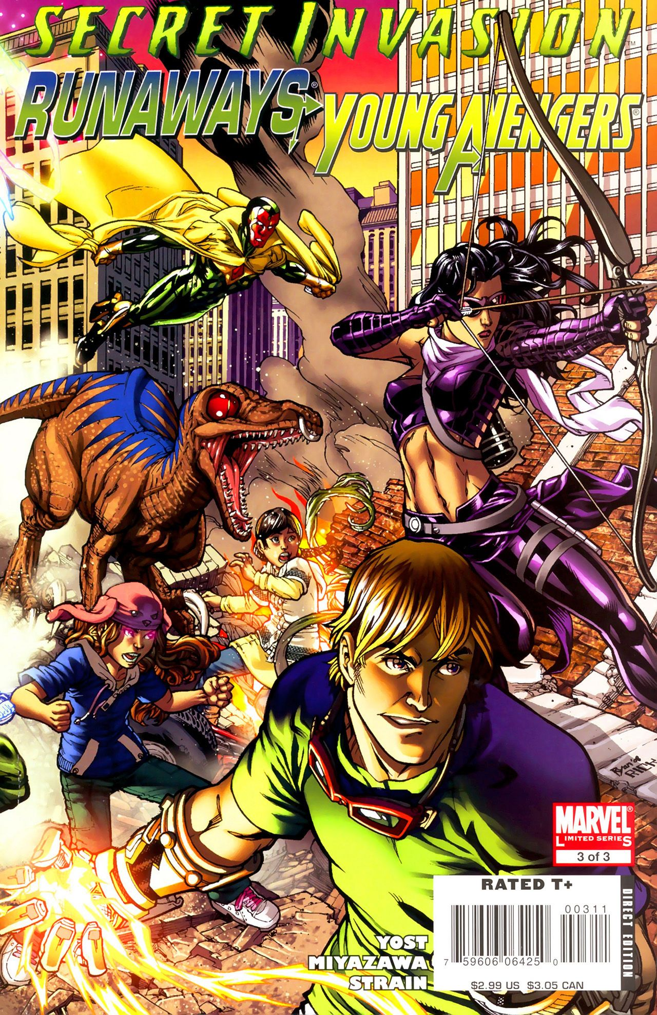 Read online Secret Invasion: Runaways/Young Avengers comic -  Issue #3 - 1
