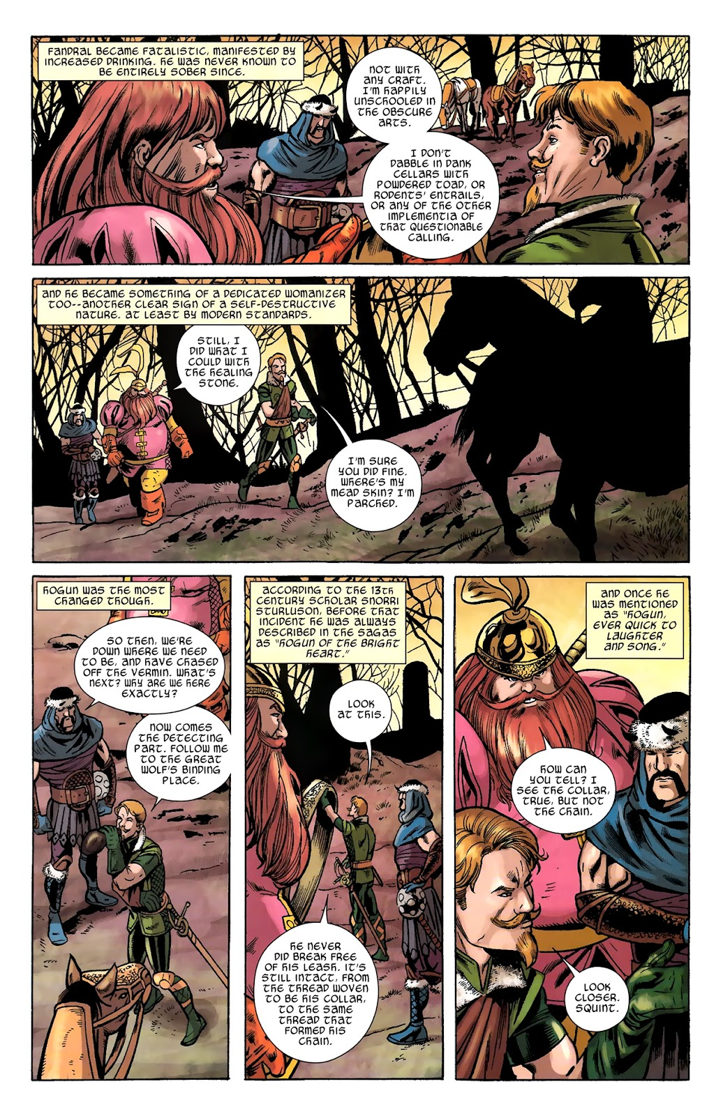 Warriors Three Issue #2 #2 - English 17