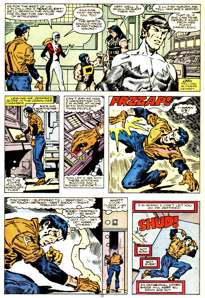 Read online Alpha Flight (1983) comic -  Issue # _Annual 1 - 14