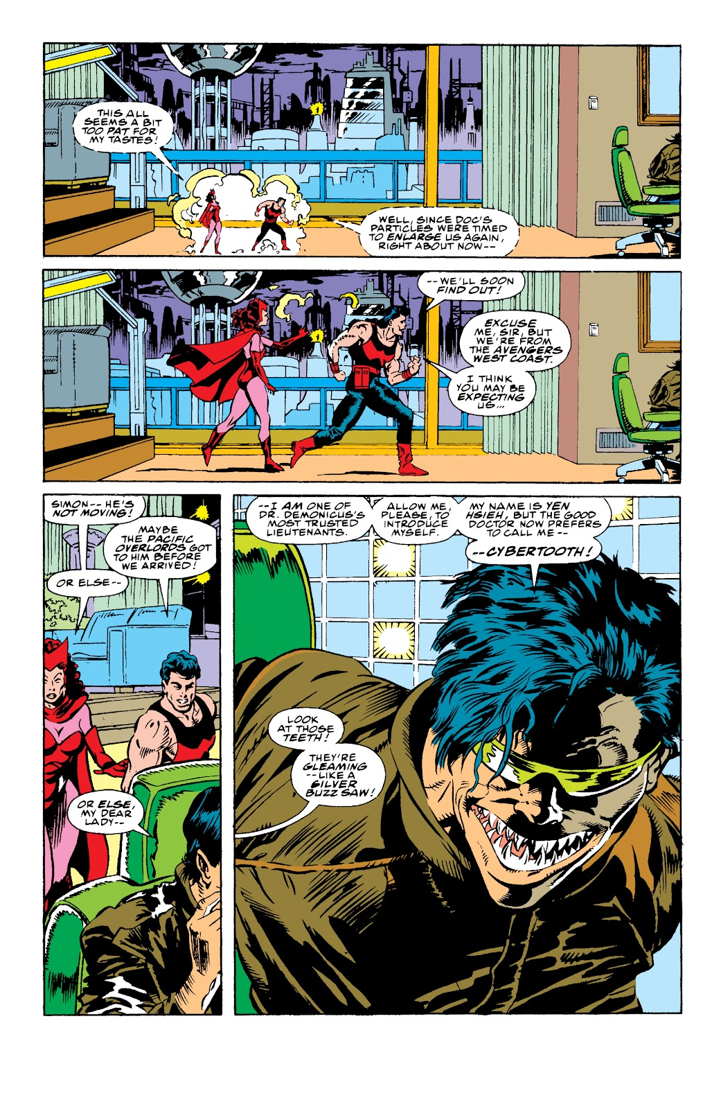 Avengers West Coast (1989) issue 73 - Page 11