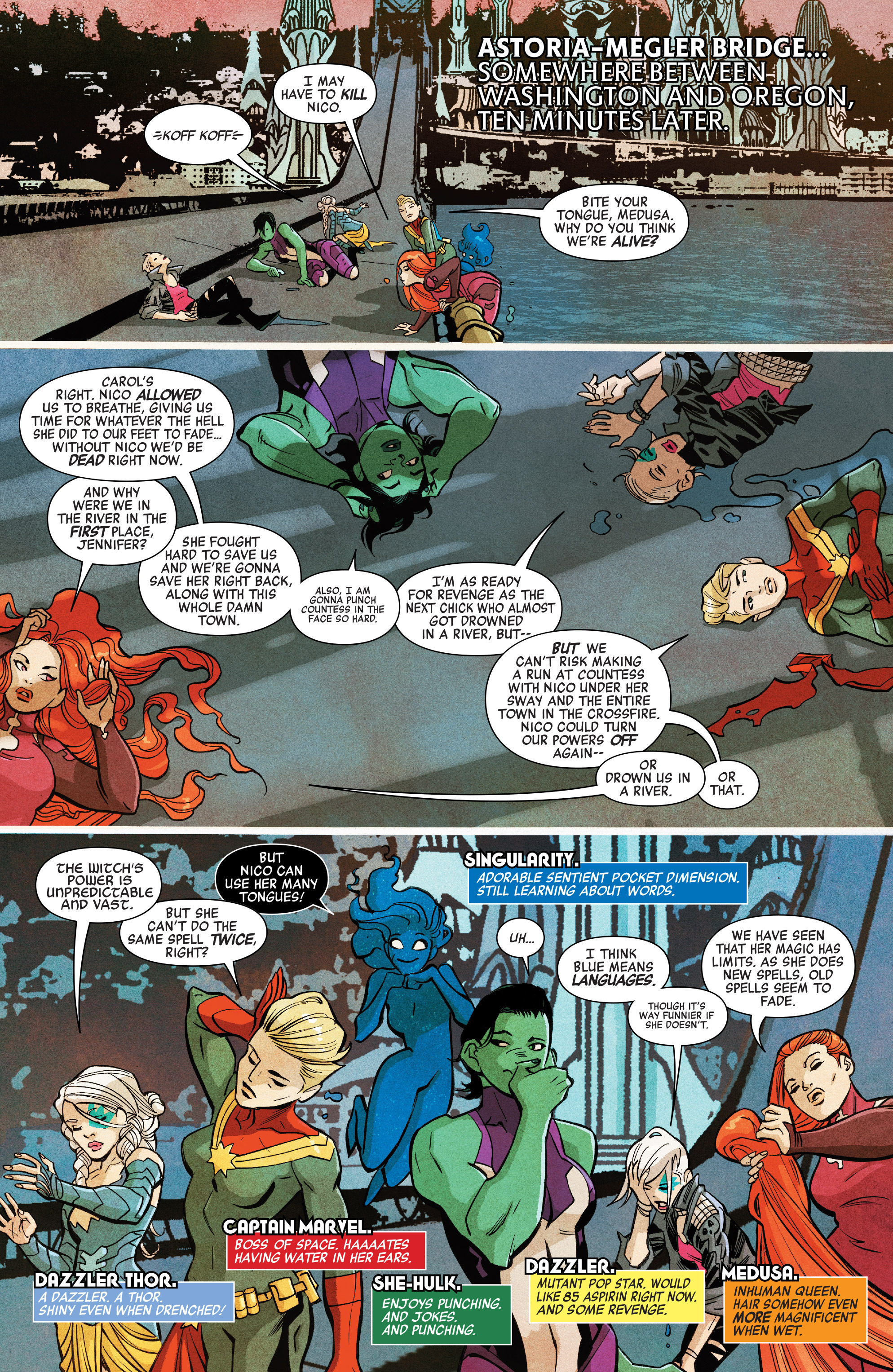 Read online A-Force (2016) comic -  Issue #7 - 4
