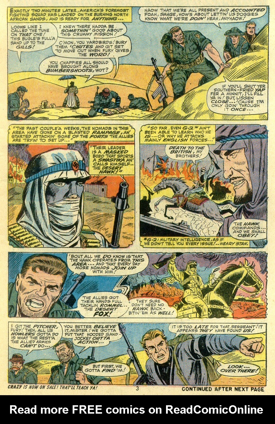 Read online Sgt. Fury comic -  Issue #107 - 5