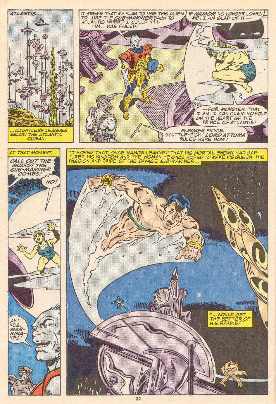Read online Alpha Flight (1983) comic -  Issue #37 - 23
