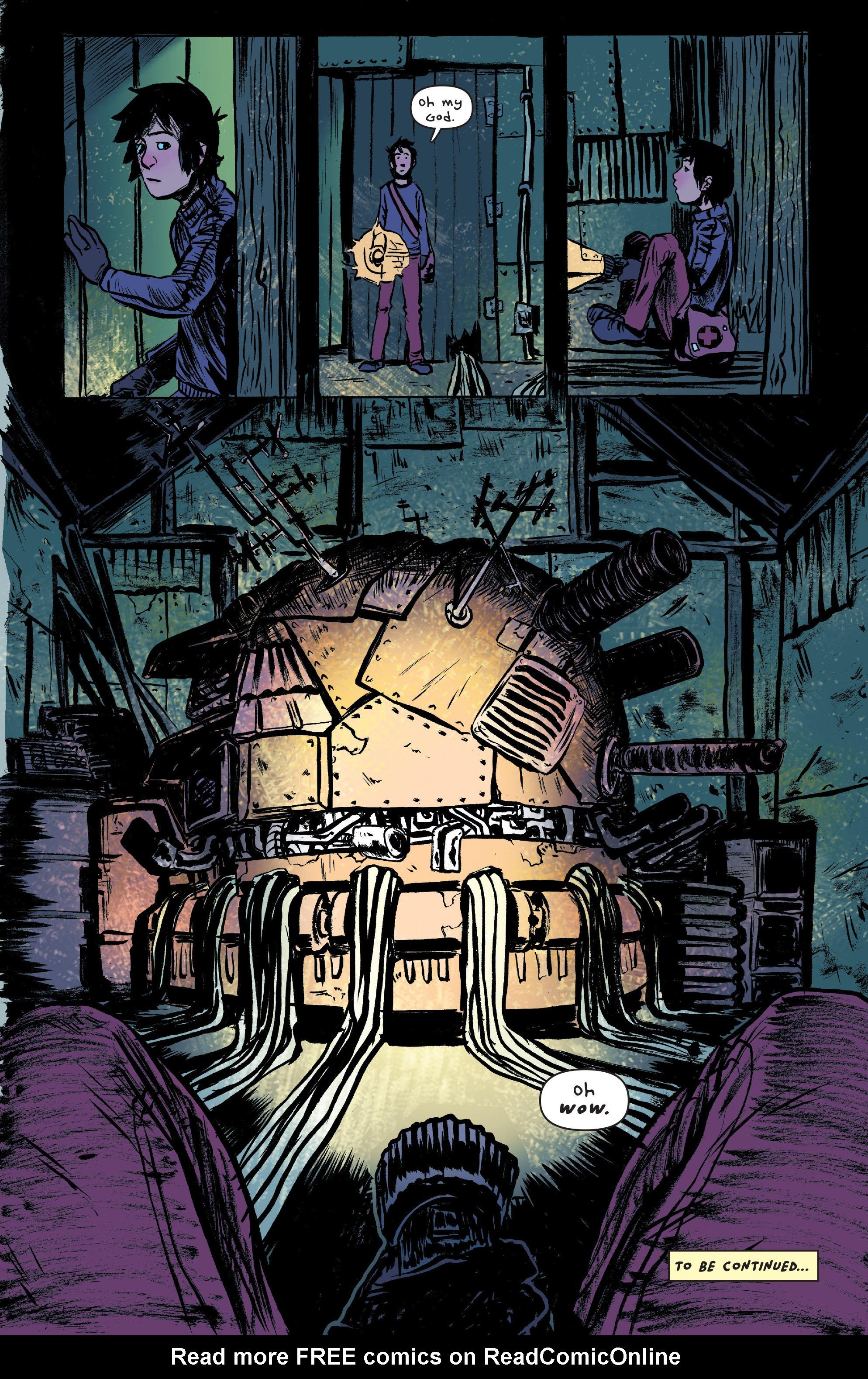 Read online UFOlogy comic -  Issue #2 - 24