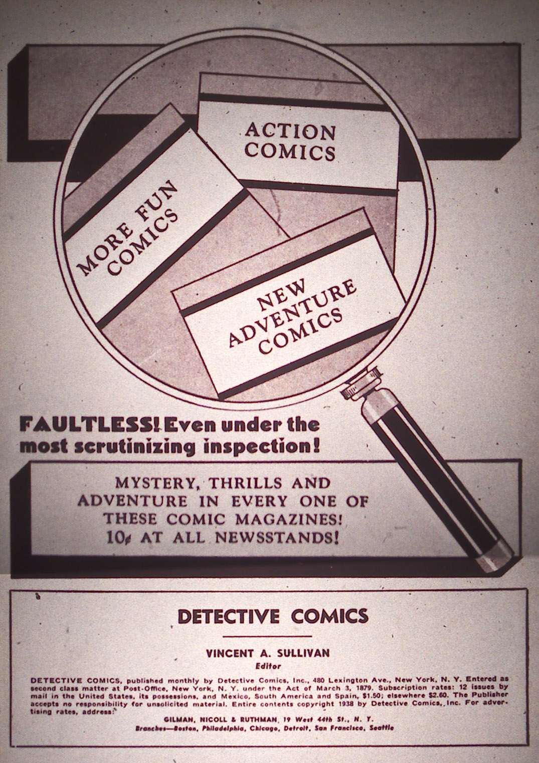 Detective Comics (1937) 19 Page 1