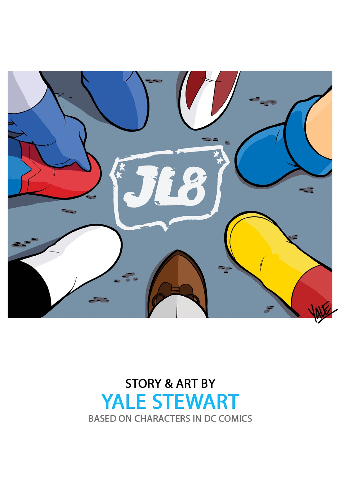 Read online JL8 – The Complete Collection comic -  Issue # TPB (Part 1) - 2