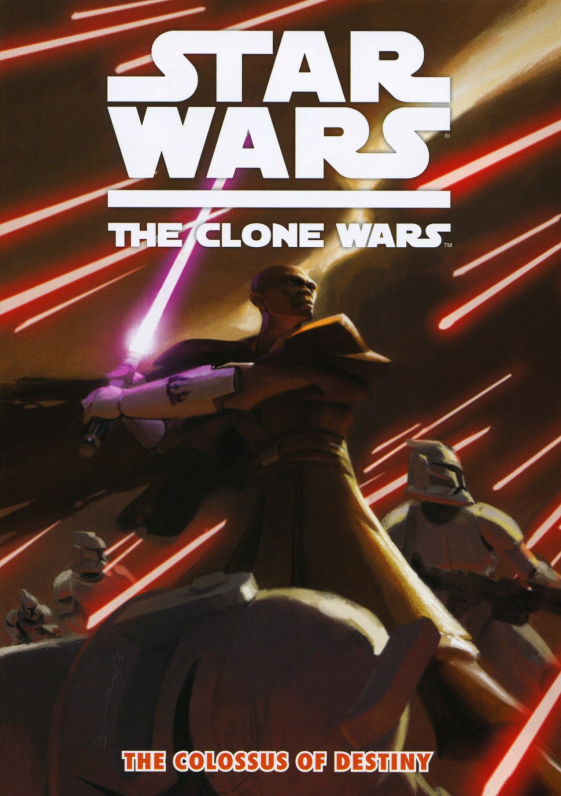 Star Wars: The Clone Wars - The Colossus of Destiny issue Full - Page 1