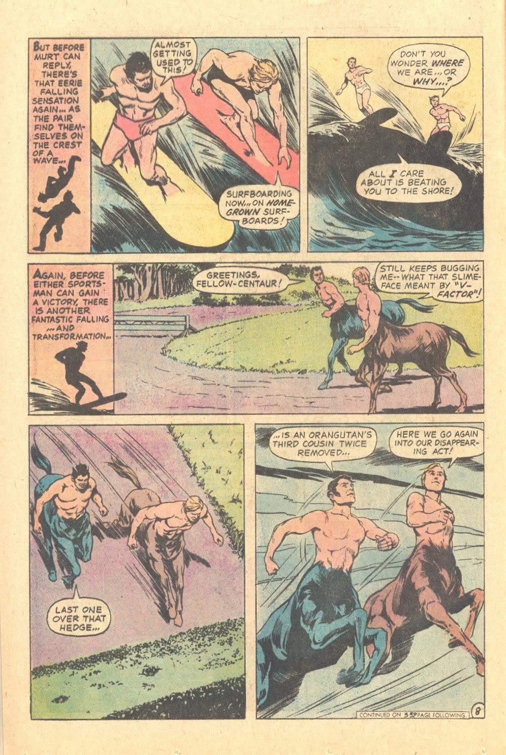 Read online Strange Sports Stories (1973) comic -  Issue #6 - 9