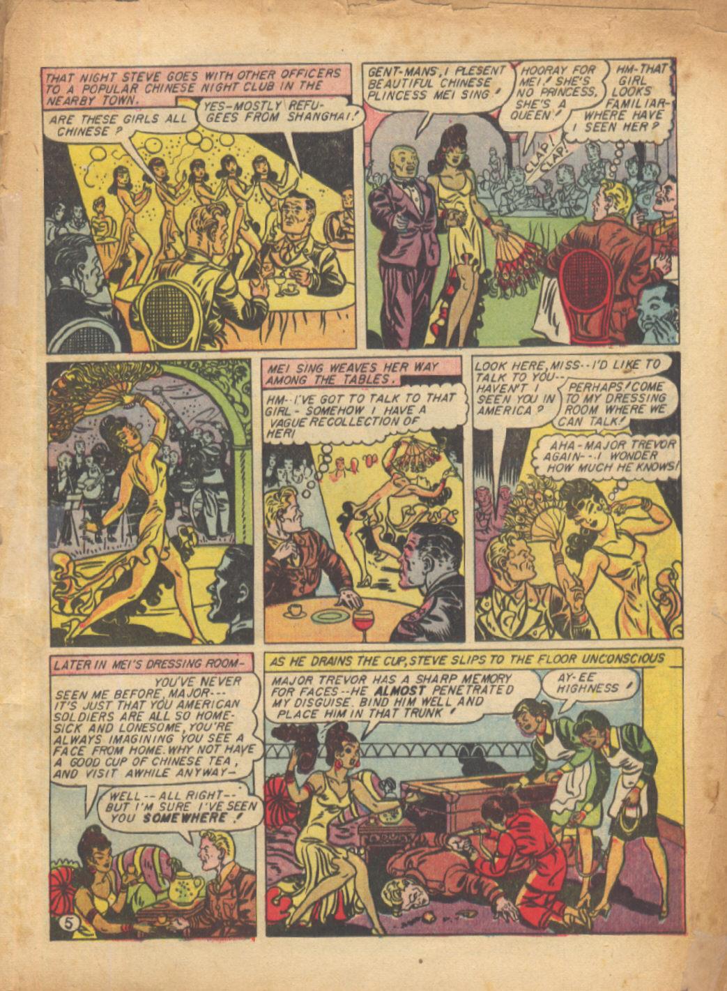 Read online Sensation (Mystery) Comics comic -  Issue #24 - 7