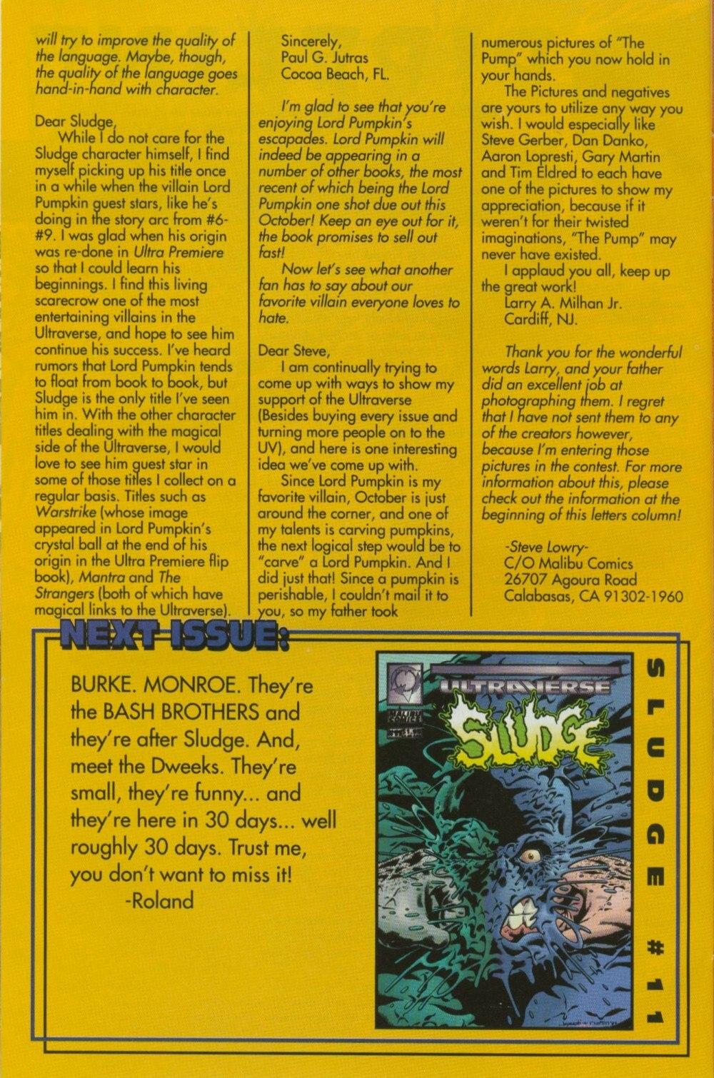Read online Sludge comic -  Issue #10 - 29