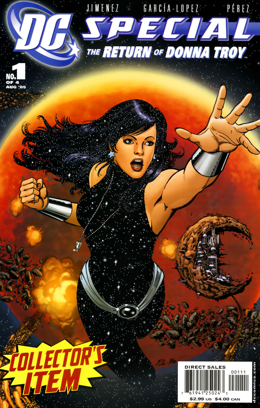DC Special: The Return of Donna Troy 1 Page 1