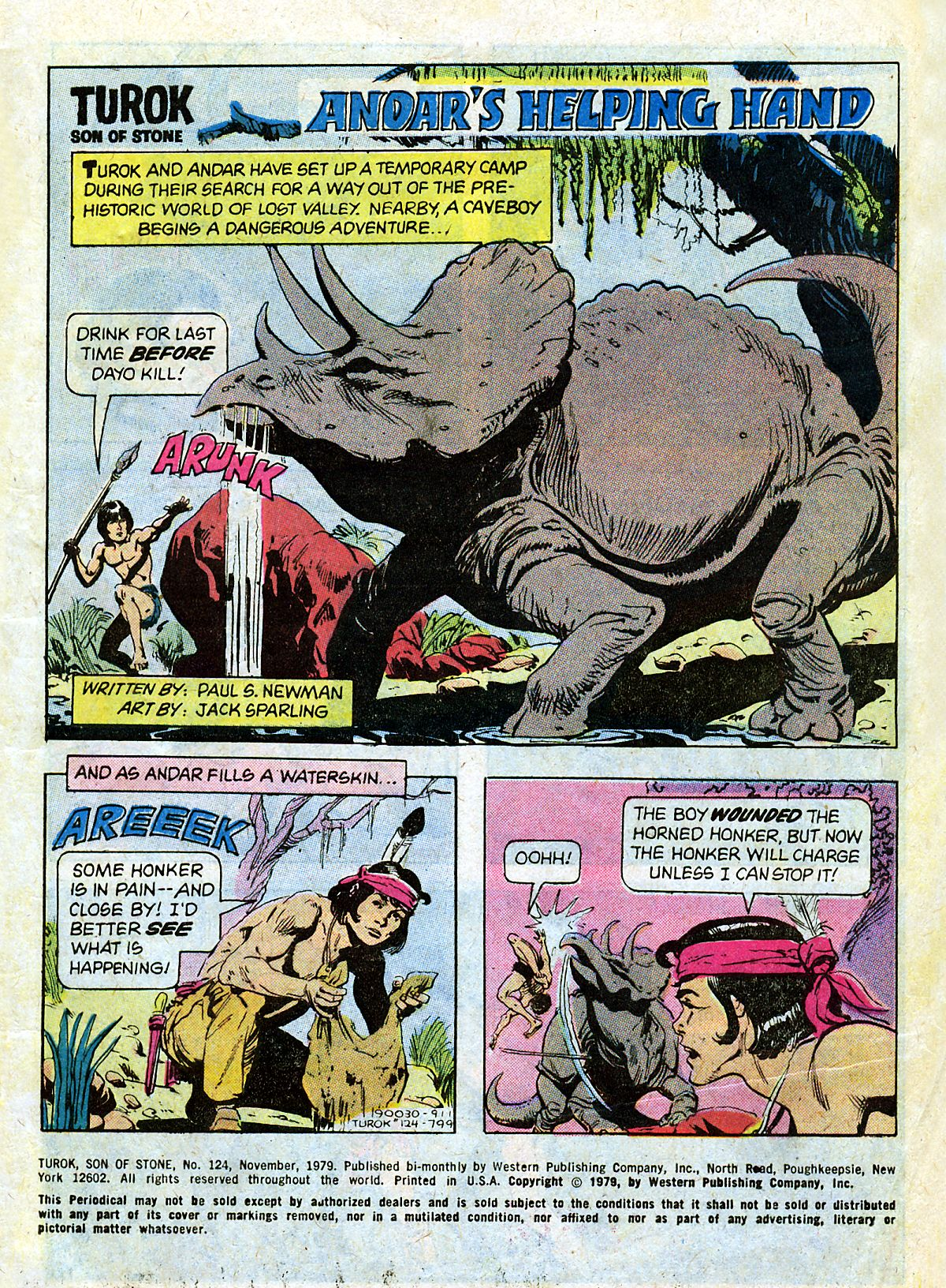 Read online Turok, Son of Stone comic -  Issue #124 - 3