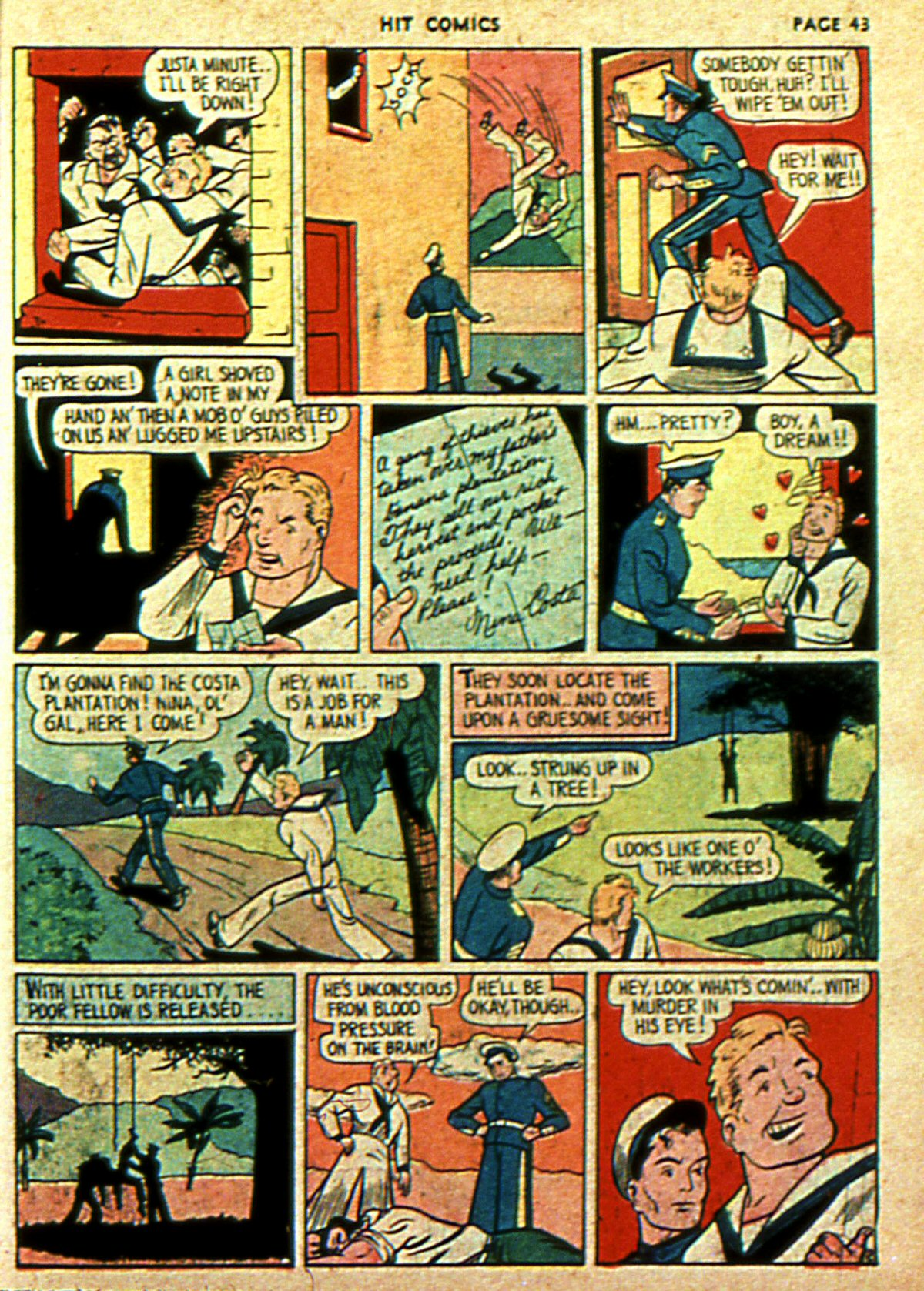 Read online Hit Comics comic -  Issue #2 - 45