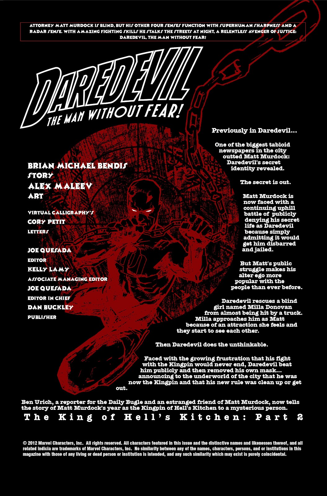 Read online Daredevil (1998) comic -  Issue # _Ultimate_Collection TPB 2 (Part 3) - 53