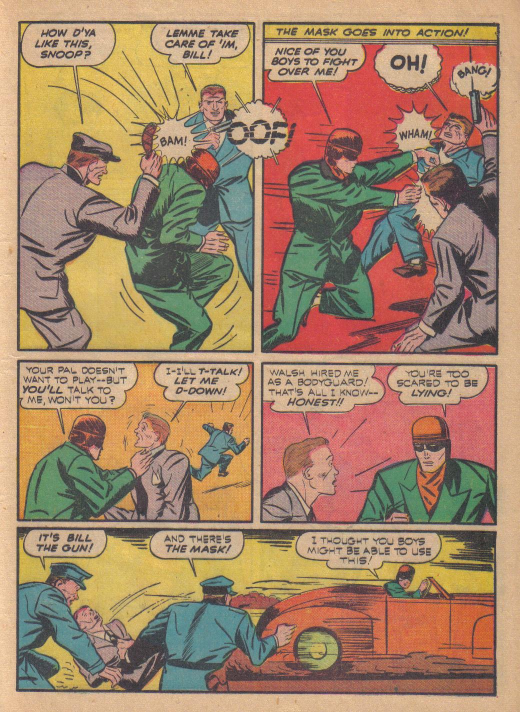 Exciting Comics (1940) issue 13 - Page 41