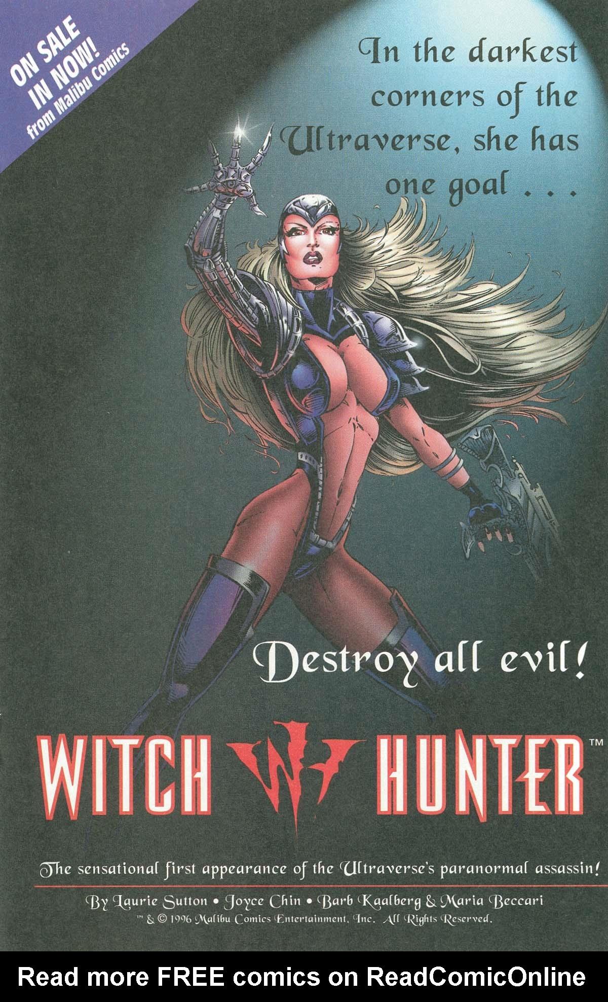 Read online UltraForce (1995) comic -  Issue #7 - 18
