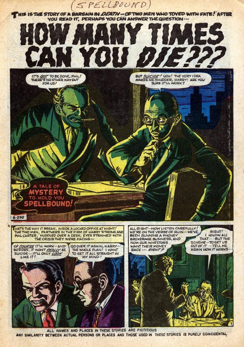 Spellbound (1952) issue 10 - Page 2