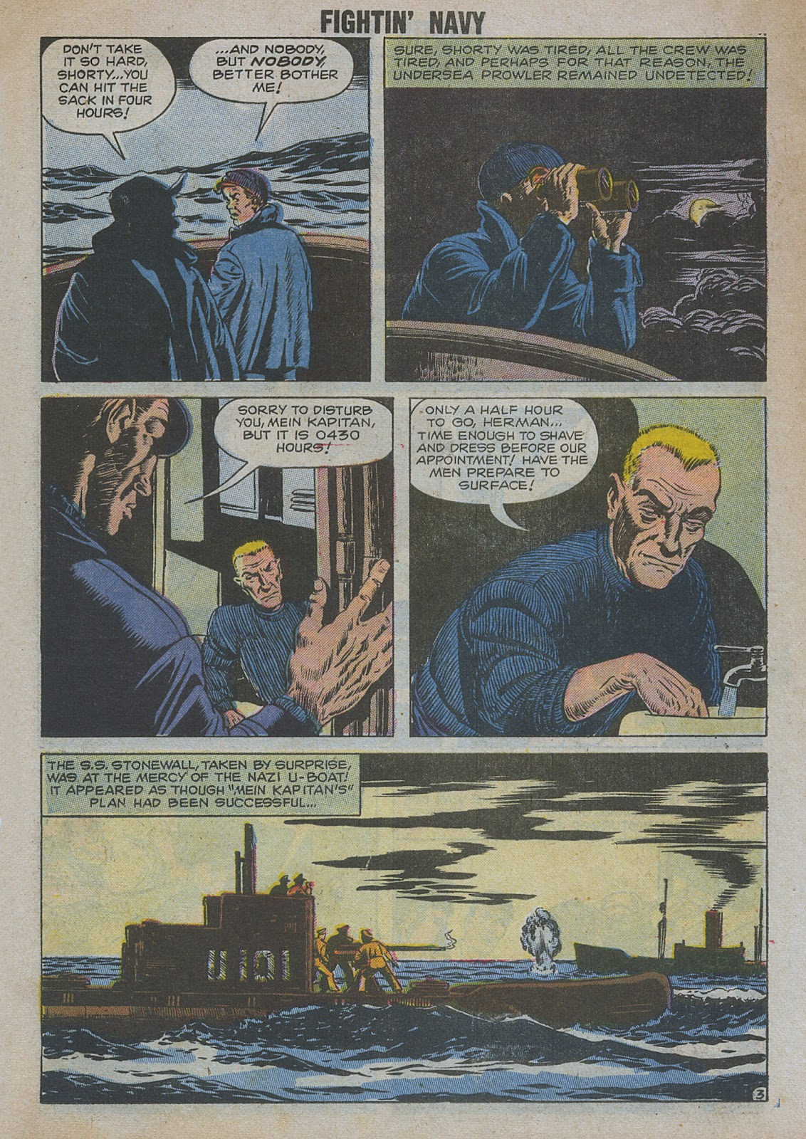Read online Fightin' Navy comic -  Issue #82 - 24