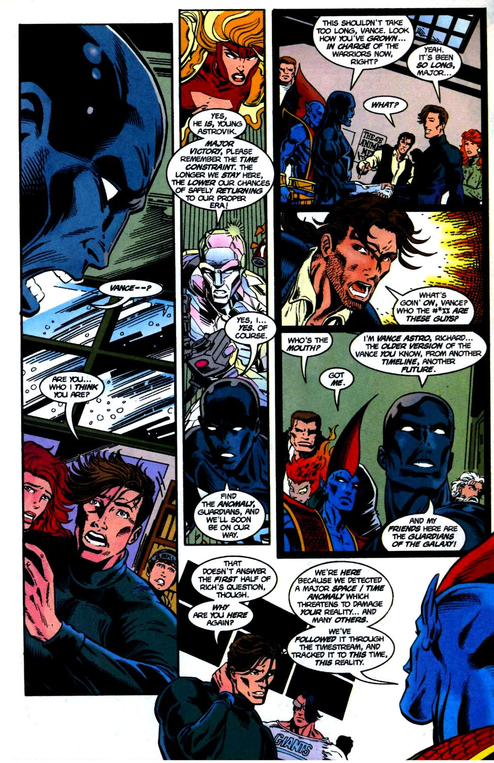 The New Warriors Issue #68 #72 - English 12