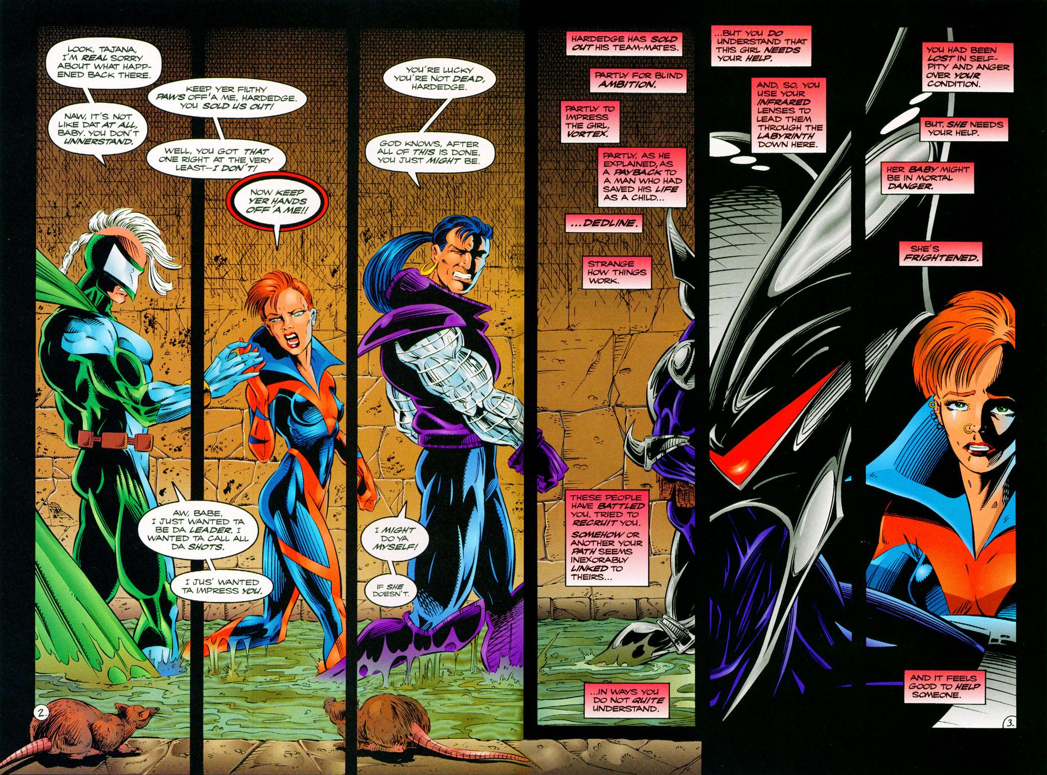 Read online ShadowHawk comic -  Issue #11 - 4
