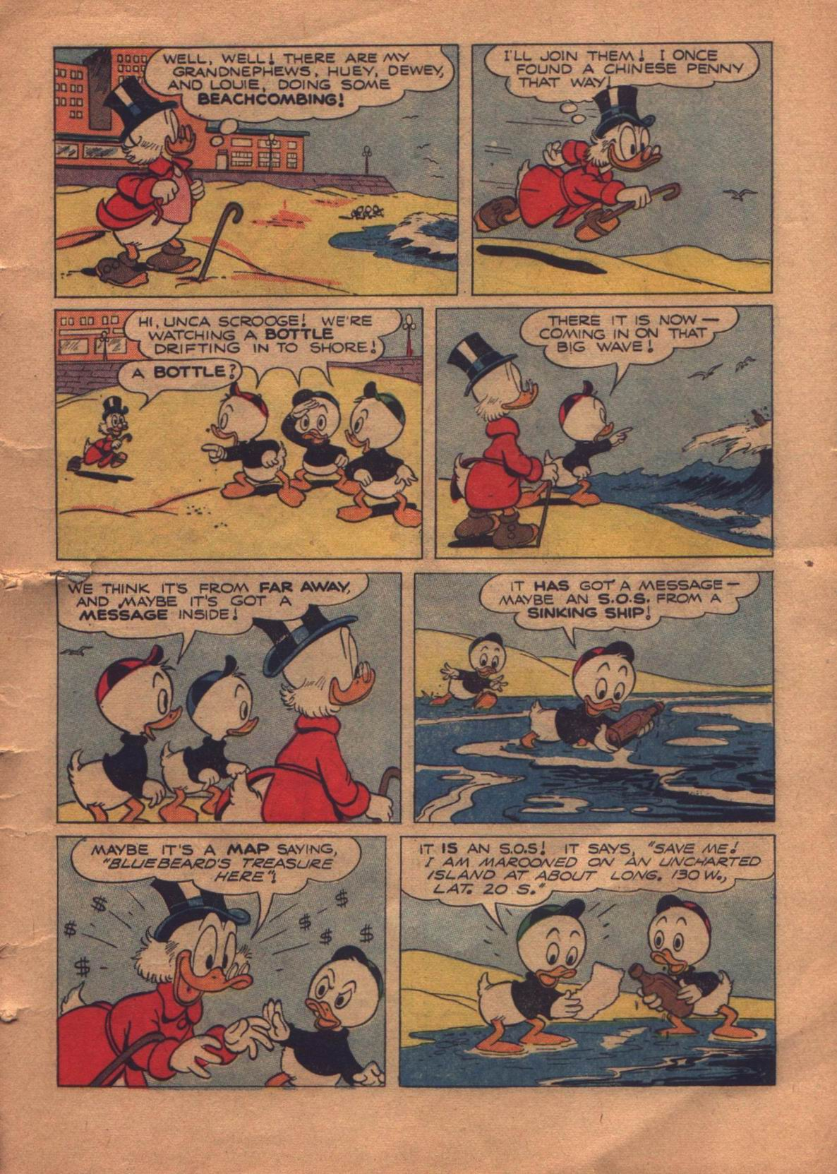 Read online Uncle Scrooge (1953) comic -  Issue #8 - 5