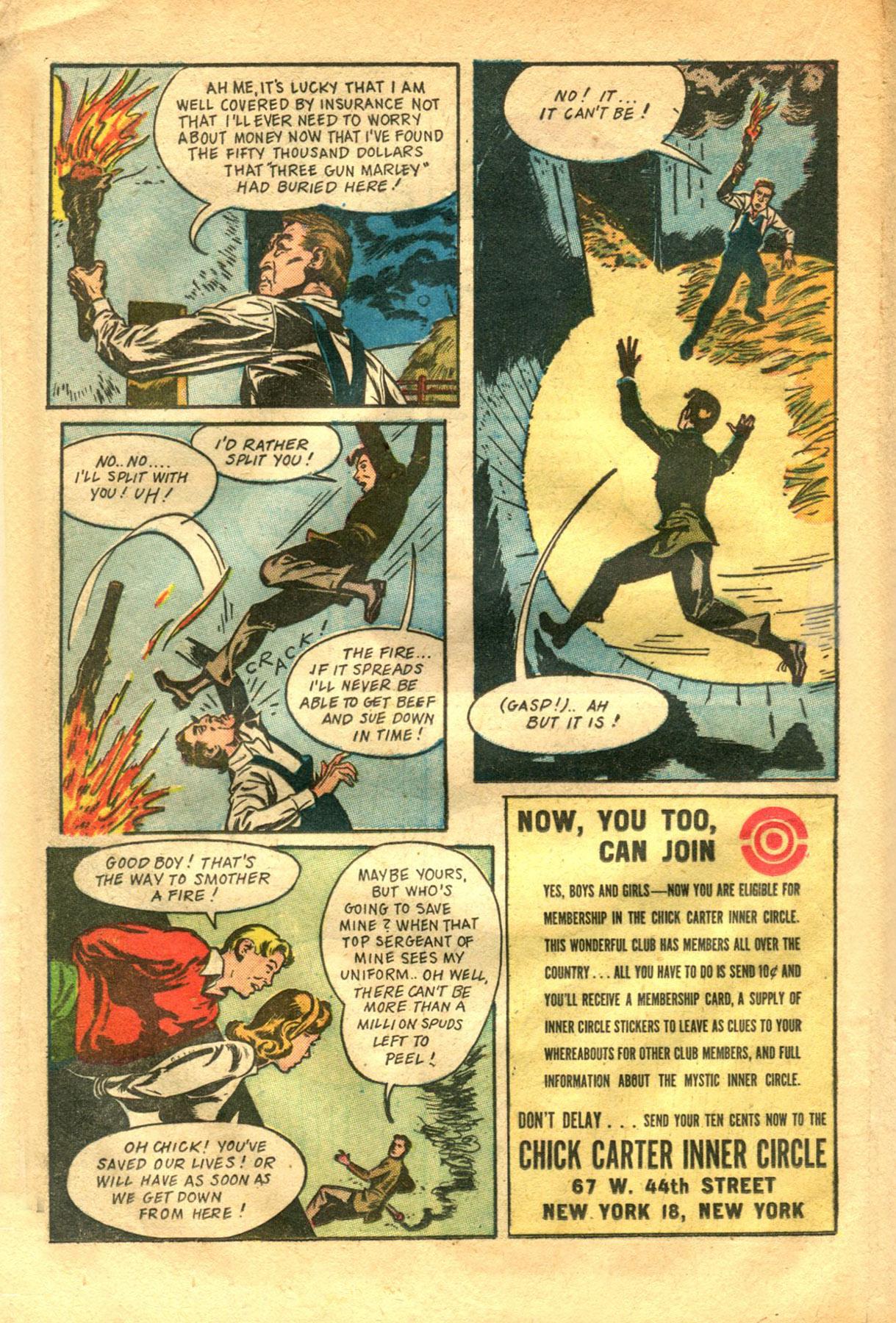 Read online Shadow Comics comic -  Issue #48 - 28