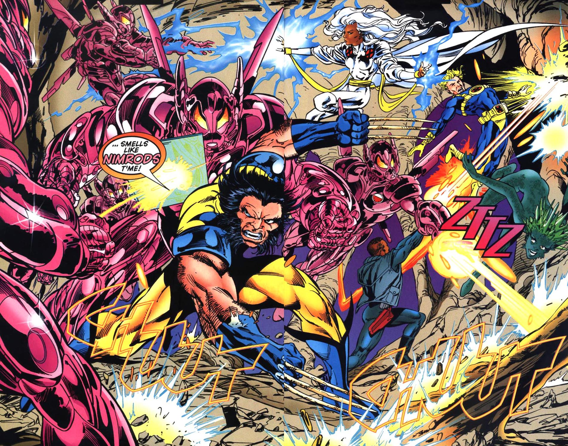 Read online Uncanny X-Men (1963) comic -  Issue # _Annual 1995 - 36