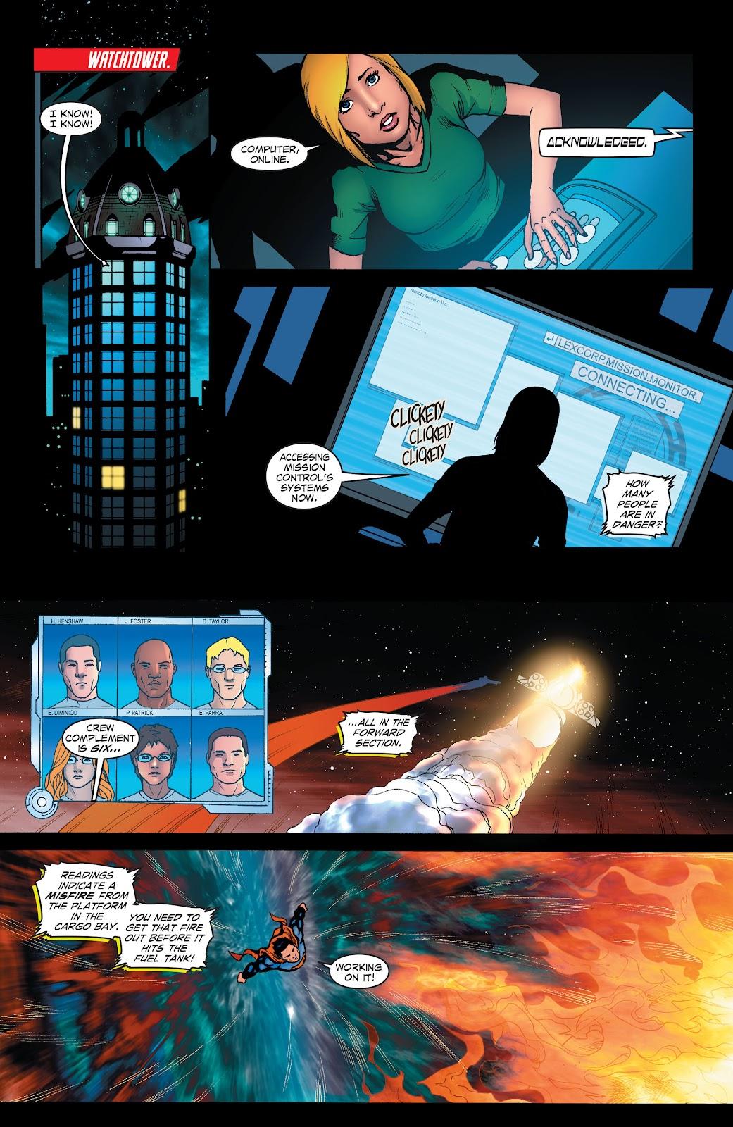 Read online Smallville Season 11 [II] comic -  Issue # TPB 1 - 61