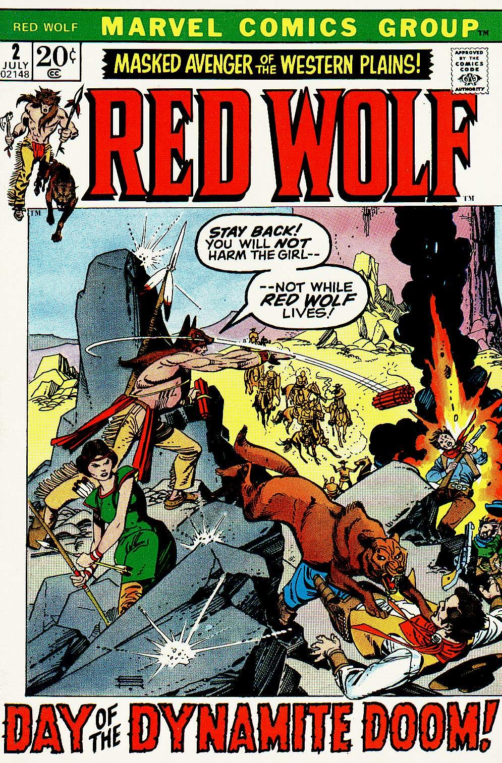 Red Wolf (1972) issue 2 - Page 1