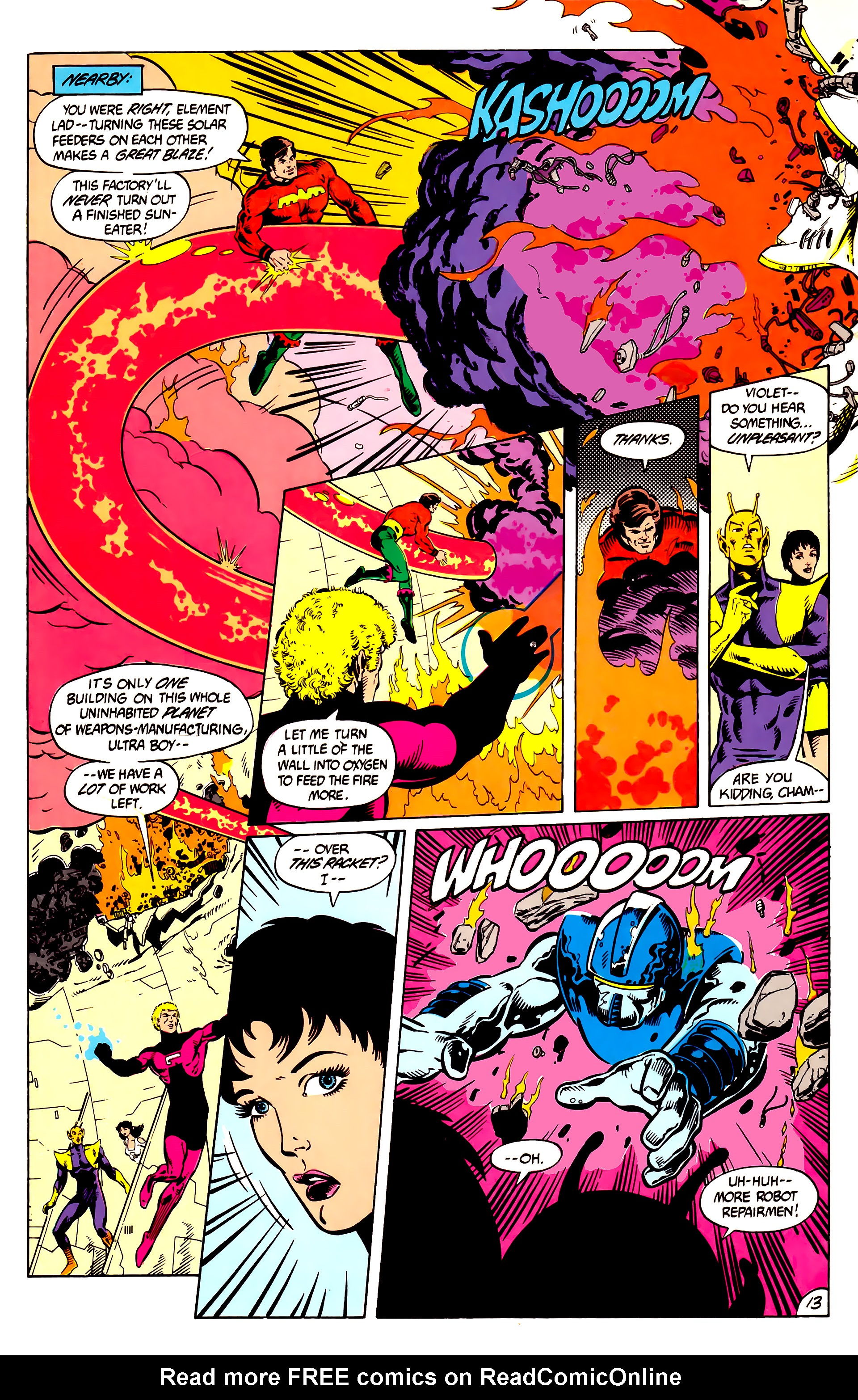 Legion of Super-Heroes (1984) 8 Page 14