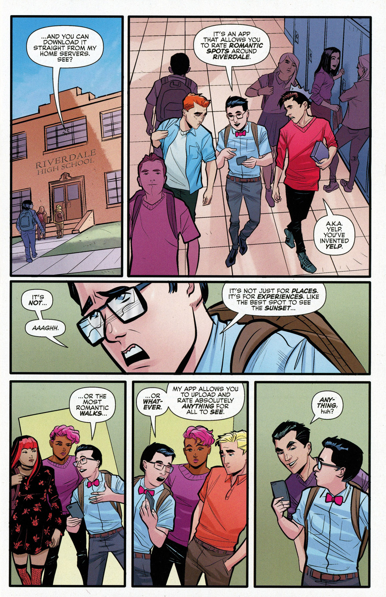 Read online Archie (2015) comic -  Issue #16 - 5