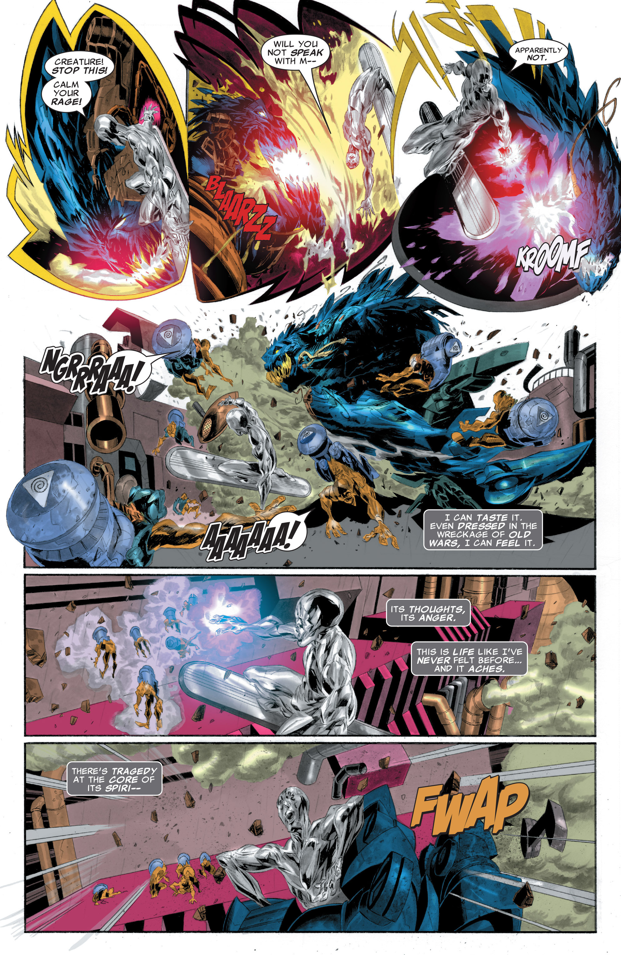 Read online Silver Surfer: In Thy Name comic -  Issue #1 - 22