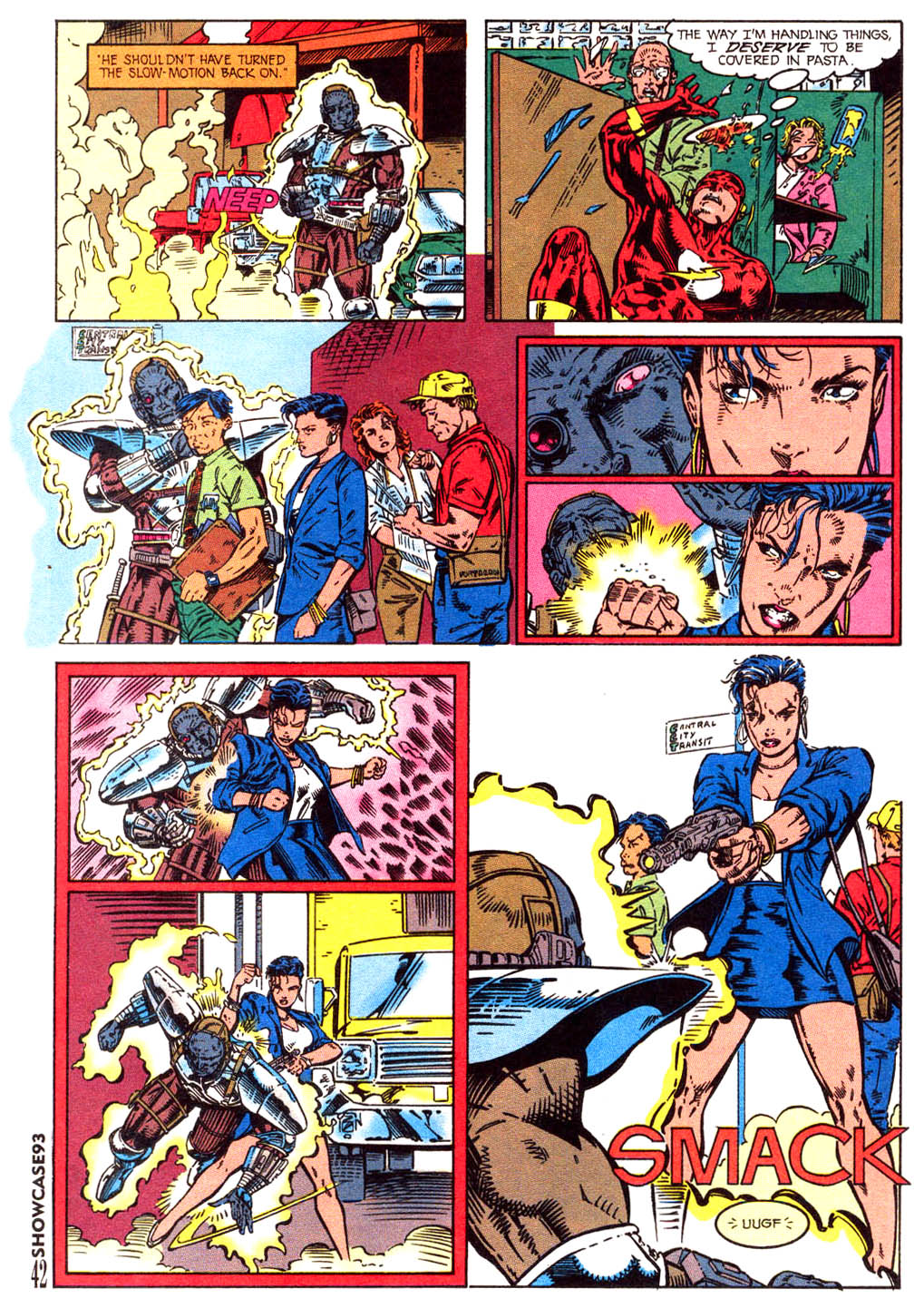 Read online Showcase '93 comic -  Issue #3 - 37
