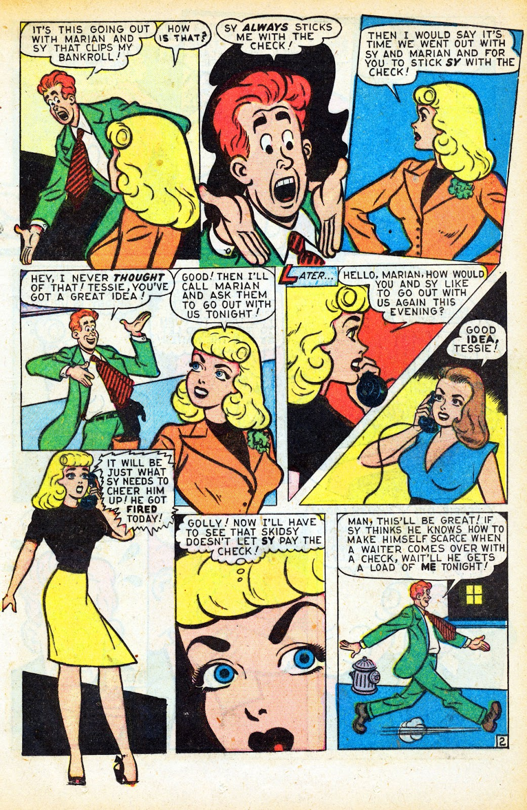 Read online Nellie The Nurse (1945) comic -  Issue #12 - 21